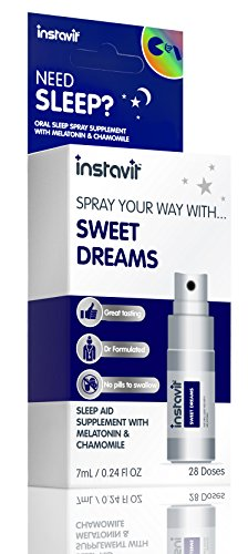 Instavit 7 ml Sweet Dreams 28 Doses Sleep Aid Oral Spray