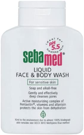 Sebamed Liquid Face and Body Wash, 33.8 FL OZ with Pump