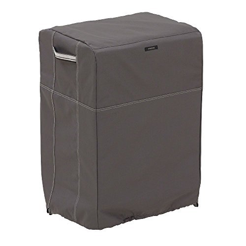 Classic Accessories 55-174-015101-EC Ravenna Square Smoker Cover, Taupe Outdoor, Home, Garden, Supply, Maintenance