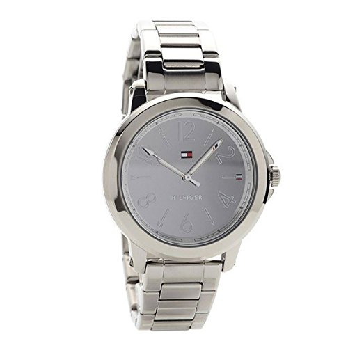 Tommy Hilfiger Women's 'Sport' Quartz Stainless Steel Casual Watch, Color Silver-Toned (Model: 1781750)