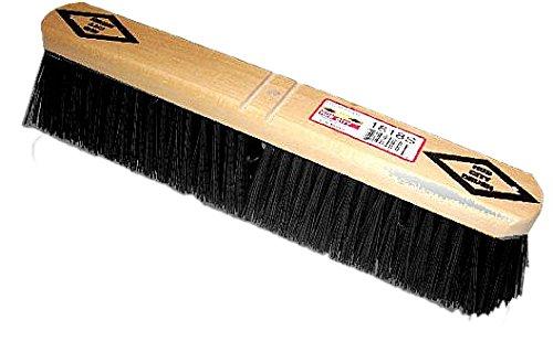 HUB City Industries 1236S Black Diamond Floor Brooms 36 Black Tampico