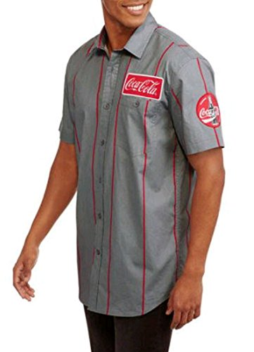 coca-cola-stripe-graphic-button-down-short-sleeve-work-shirt-small-34-36