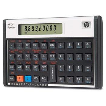 Hewlett-Packard 12C 12c Financial Calculator 10-Digit LCD by HP