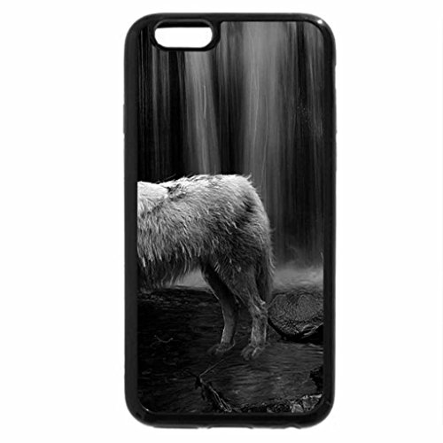 iPhone 6S Plus Case, iPhone 6 Plus Case (Black & White) - After the Hunt