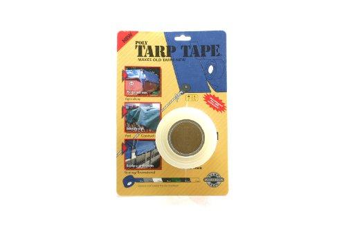 Tarp Tape TC-35 2-Inch Tarp Tape, Clear