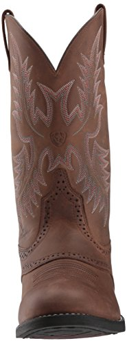 Ariat Mens Heritage Stockman Western Boot, Native Nutmeg, 7 D US Driftwood Brown/Driftwood Brown