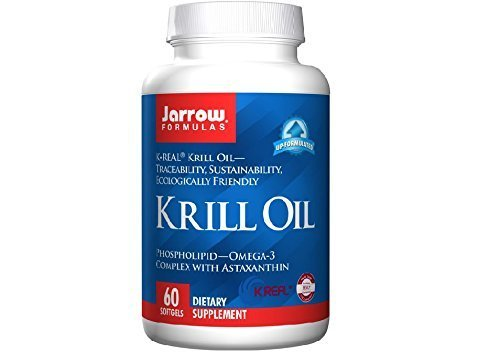 Jarrow Formulas Krill Oil, 60 Softgels , Pack of 3
