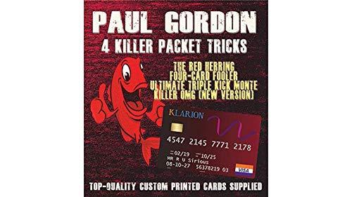 MJM Paul Gordon's 4 Killer Packet Tricks Vol. 1 - Trick by MJM (Image #1)