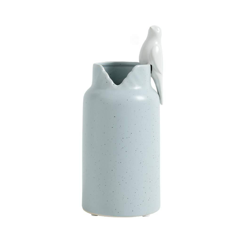 WSJTT ホームオフィスのための現代のミニマリストの鳥の陶磁器の花瓶のミニマリスト様式の装飾、友人及び家族のための理想的なギフト B07S888431