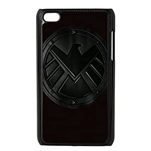 YUAHS(TM) Customized Hard Back Phone Case for Ipod Touch 4 with Agents of Shield YAS385493