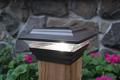 Classy Caps SL211R Aluminum Imperial Solar Post Cap, 4 x 4-Inch, Bronze by Classy Caps (Image #2)