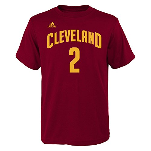ac6c7c34b3ff Kyrie Irving Cleveland Cavaliers Youth Adidas NBA Player T-Shirt ...