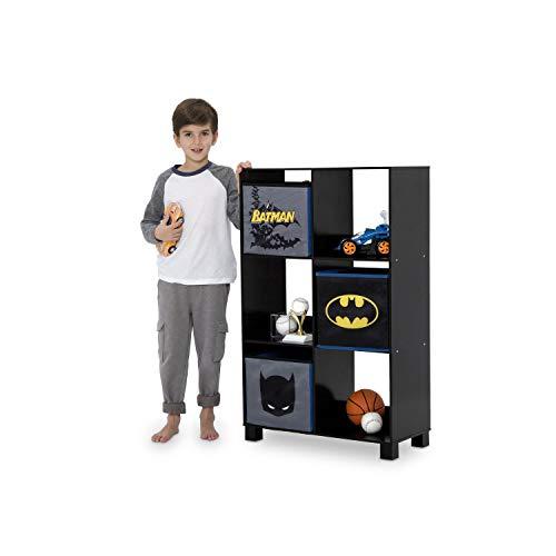 Delta Children 6 Cubby Deluxe Storage Unit, DC Comics Batman