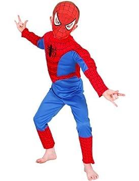 Disfraz de Spiderman para niño (3 años): Amazon.es: Juguetes y juegos