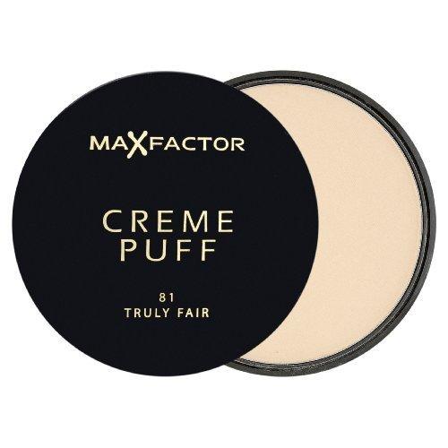 Max Factor Creme Puff Compact Powder - 81 Truly Fair by Max Factor (English Manual)
