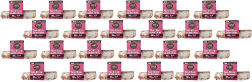 (Case of 24) Earth Animal No-Hide Salmon Chews 7'' by Earth Animal