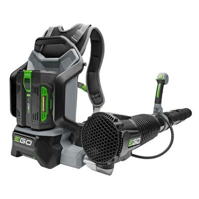 Backpack Blower with Brushless Cordless Motor Features Jet-Engine Inspired Turbine Fan, EGO's ARC Lithium Battery Technology and Robust Tool Construction, Ideal for Outdoor Cleaning by EGO Power+