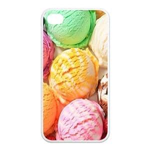 Custom Chocolate Design Iphone 4 4S TPU Case Cover
