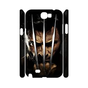 FLYBAI X-Mens Wolverine Phone 3D Case For Samsung Galaxy Note 2 N7100 [Pattern-5]