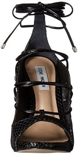 Steve Dress Sandal Women's Roxie Snake Black Madden Zqx4r6Z
