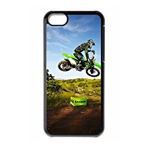 Motocross iPhone 5c Cell Phone Case Black GY0353C2