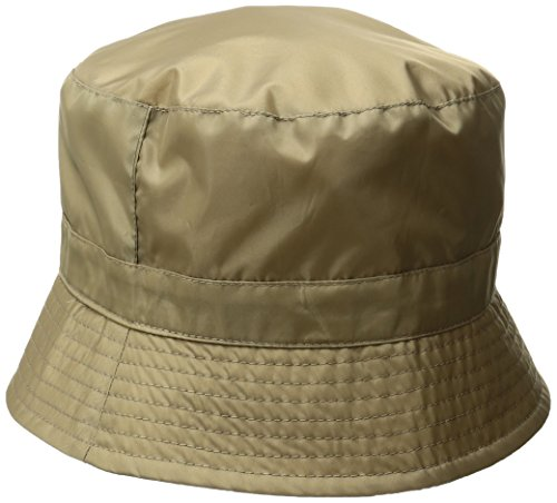 totes Women's Bucket Rain Hat, Tan, One Size ()