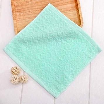 Bearony Suave Juego de 10 Toallas de algodón Toallas para niños Toallas de Mano Toallas Familiares (Color : Green): Amazon.es: Hogar