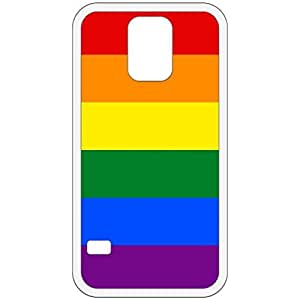 LGBT Flag White Samsung Galaxy S5 Cell Phone Case - Cover wangjiang maoyi