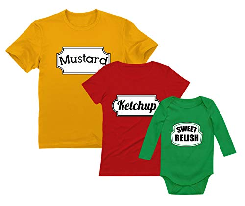 Ketchup, Mustard & Sweet Relish Halloween Easy Costume