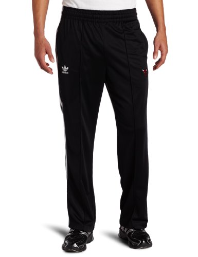 NBA Men's Chicago Bulls Originals Court Series Legacy Track Pant (Black, Medium)