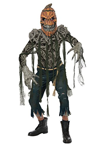 (California Costumes Men's Pumpkin Creature Adult Man Costume, Multi, Extra)