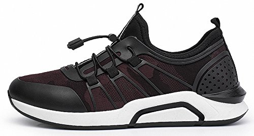 Ben Sports zapatillas de deporte trail Running de hombre pare mujor G-Rojo