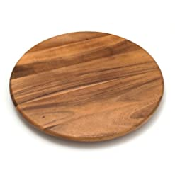 Kitchen Lipper International Acacia Wood 18″ Lazy Susan Kitchen Turntable lazy susans