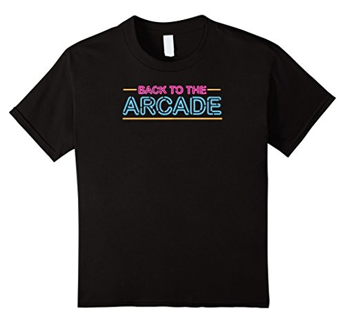 Price comparison product image Kids back to the arcade gaming retro gamer t-shirt 12 Black