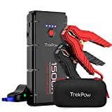 Car Jump Starter, 1500A Peak Trekpow by ABOX 12V Auto Upgraded Battery Booster