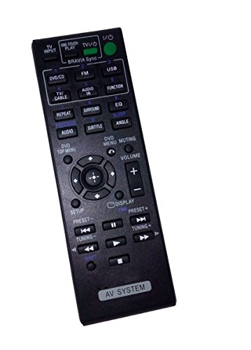 Replaced Remote Control Compatible for Sony HCDTZ145 RM-ADU138 1-489-973-11 DAV-TZ145 DAVTZ135 HBD-TZ130 Audio Video Receiver Home Theater system -  JustFine, LYSB01N7G96Y2-ELECTRNCS