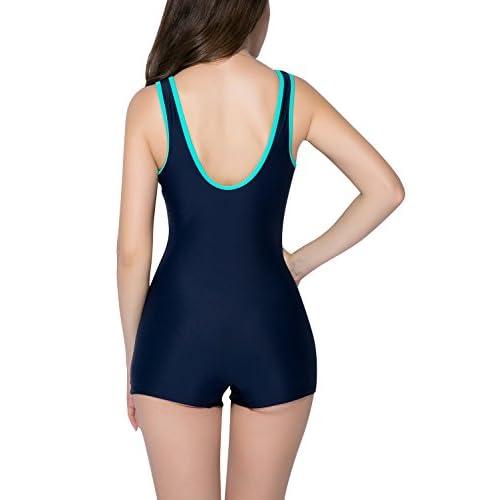 Dolamen mujer trajes de ba o ba ador deportivo traje de - Trajes de bano natacion ...