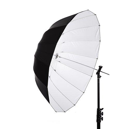 41'' White Parabolic Umbrella by Interfit