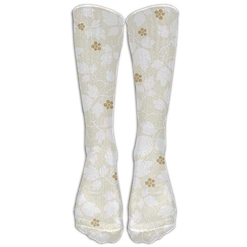 Girl's Ladies Tube Stockings Cute Animal Fruit Spandex Travelers Compression Laides Comfortable Warm Over The Knee Running Sock