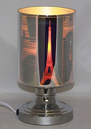 EcoScents The Eiffel Aroma Lamp Silver ()