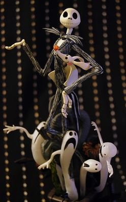 Kingdom Hearts Jack Skellington, the Pumpkin King Toy Figure by Disney