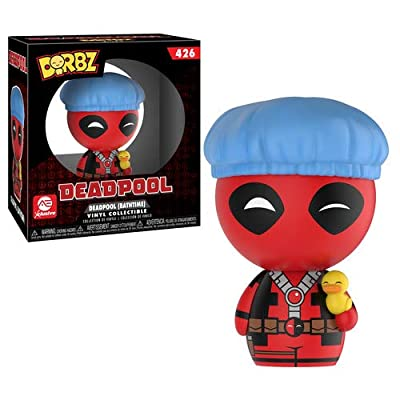 Funko DORBZ: Marvel - Bathtime Deadpool (Alliance Exclusive): Funko Dorbz:: Toys & Games