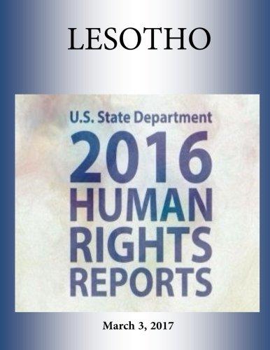 LESOTHO 2016 HUMAN RIGHTS Report PDF