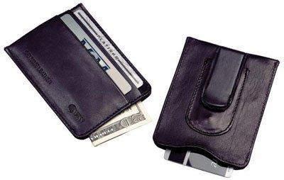 Leather Money Clip & Credit Card Holder Winn Slim Wallet