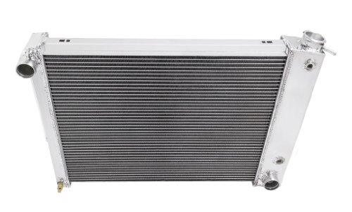 Champion Cooling, Chevrolet Small Block Camaro 3 Row All Alum Radiator, (Chevrolet Small Block)