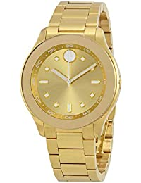 Womens Swiss Quartz Tone and Gold Plated Casual Watch(Model: 3600416)