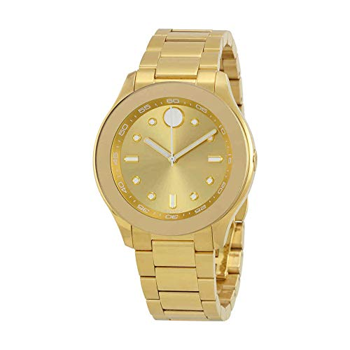 Women's Swiss Quartz Tone and Gold Plated Casual Watch(Model: ) - Movado 3600416