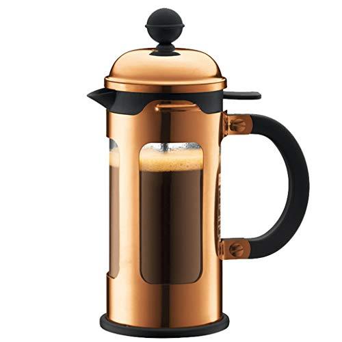 HYJBGGH Cafeteras de émbolo French Press Coffee Maker 350ml, Cafetera Francesa Tetera Resistente Al Calor con Sistema De…