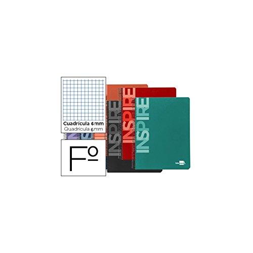 WOW Leitz Cuaderno A4 46261062 Con Cuadr/ícula P/úrpura Encuadernaci/ón con tapas r/ígidas 80 p/áginas