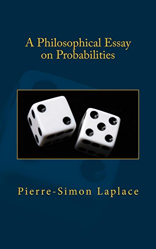 com a philosophical essay on probabilities ebook pierre  a philosophical essay on probabilities by laplace pierre simon
